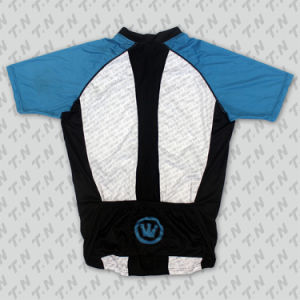 100% Polyester Man′s Short Sleeve Cycling Wear