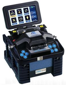 China Eloik Alk-88 Black Fiber Optic Splicing Machine Fusion Splicer
