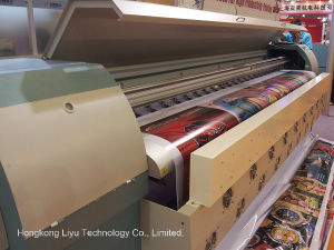 3.2m Digital Solvent Large Format Printer (FY-3278N with 8PCS Seiko Spt510 Inkjet Printhead) pictures & photos