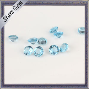 Top-Grade 95% Clear Swiss Blue Natural Topaz pictures & photos