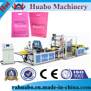 Ultrasonic Fully Automatic Nonwoven Bag Making Machine pictures & photos