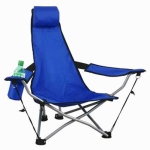 Wholesale Camping Reclining Folding Chair with Footrest (SP-114) pictures & photos