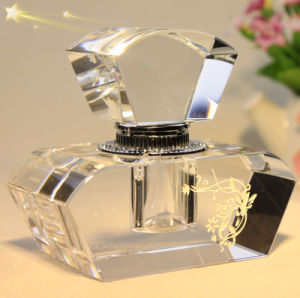 Antique Cosmetic Bottle for Wedding Favors Crystal Perfume Bottle pictures & photos