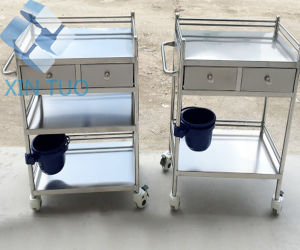 Hospital Trolley ABS Medical Nursing Carts pictures & photos