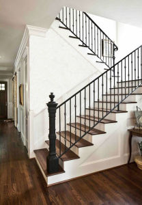 Simple Design Iron Metal Staircase Railing Fencing Security