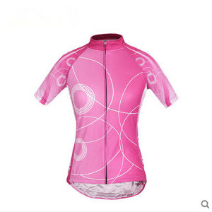 Custom Sublimated Short Sleeve Cycling Suit for Womens pictures & photos