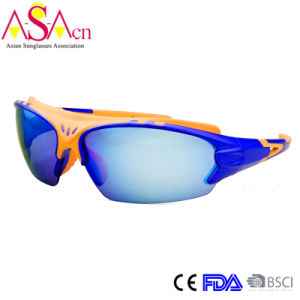 High Quality Light PC Colorful Sports Sunglass (14368)