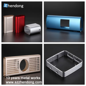 Electronic Hardware Housing Case Shell Box Frame Aluminum Extrusion Profile for PCB