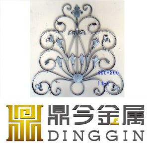 2017 Best Seller Wrought Iron Window Fence Ornament pictures & photos
