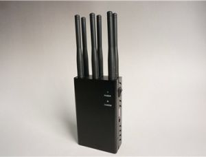 Free Shipping Handheld Portable 6-CH Cell Phone Signal Jammer pictures & photos