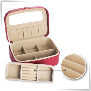 Factory PU Leather Logo Printed Jewelry Box