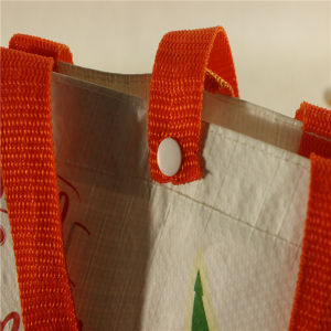 PP Woven Nonwoven Shopping Bag for Carrying in Supermarket (MECO150) pictures & photos
