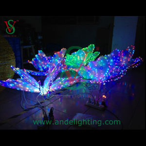 Colorful 3D Butterfly Motif LED Light Christmas Decoraiton Light