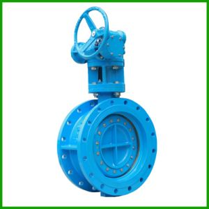 Double Offset Butterfly Valve Soft Seal Butterfly Valve pictures & photos