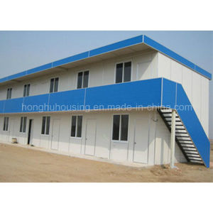 Modern Design Prefabricated Slop Roof House pictures & photos