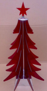 OEM Christmas Tree Acrylic Jewellery Display Stand pictures & photos