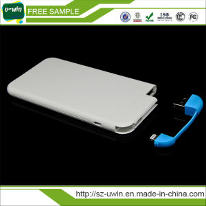 5000mAh Portable Power Bank with Ce, RoHS, FCC
