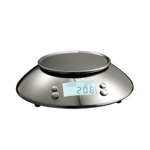with Stainless Steel Bowl LCD Display Digital Kitchen Scale pictures & photos