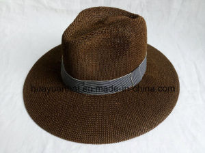 100% Paper with Brown Color Leisure Style Safari Hats