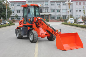 CE Mini Telescopic Loader Er1500 with Quick Hitch for Sale pictures & photos