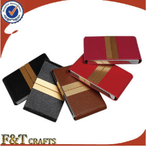 Fashion Different Colors Leather Card Case for Hot Sales pictures & photos