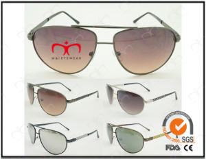Classic Fashionable Hot Selling UV400 Protection Metal Sunglasses (40415) pictures & photos