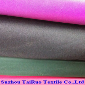 Printed Microfiber Poly Pongee with Coating for Garment Lining