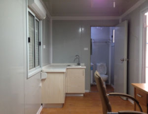 Container House for Labor Camp with Kitchen / Toilet pictures & photos