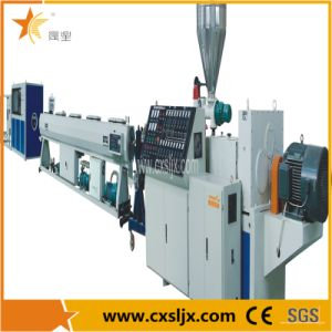 PVC Pipe Conical Twin Screw Extruder / Plastic Pipe Extruder Equipment / Double Screw Extrusion Machine pictures & photos