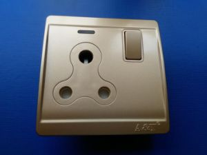 15A Screwless Switch Socket with PC Material
