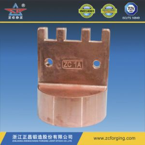 Copper Fitting Parts by Hot Forging pictures & photos