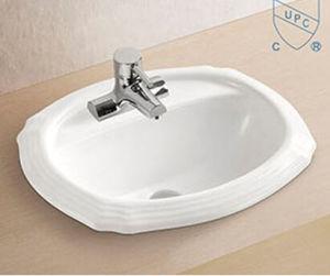 bathroom rectangular shape art ceramic porcelain hand wash sink basin - Hand Wash Sink
