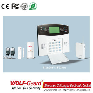 Zx PSTN Dail Keypad Wireless Surveillance Alarm System pictures & photos