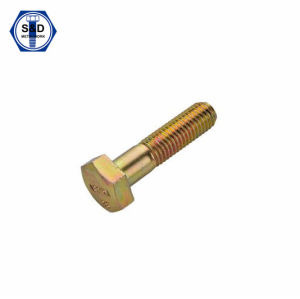 A325m 8s Heavy Hex Structural Bolt Zinc Yellow