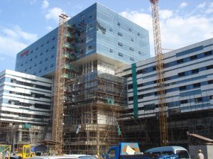 Exterior Cladding Aluminium Glass Wall for Office Building