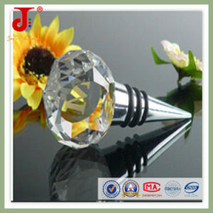 Round Shape Crystal Glass Bottle Stopper pictures & photos