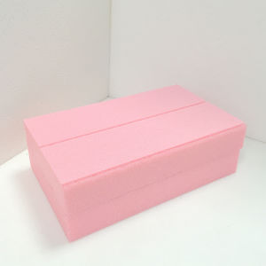 Fuda Extruded Polystyrene (XPS) Foam Board B3 Grade 300kpa Pink 30mm Thick Slotted