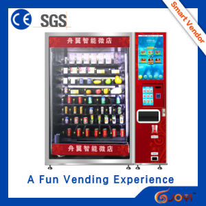 2016 New Product Fresh Food Vending Machine with SGS Certification