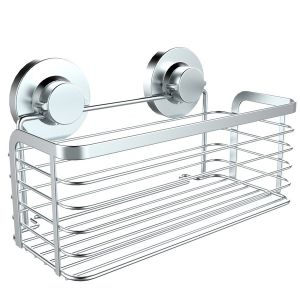 304 Stainless Steel Suction bathroom Rectangular Basket