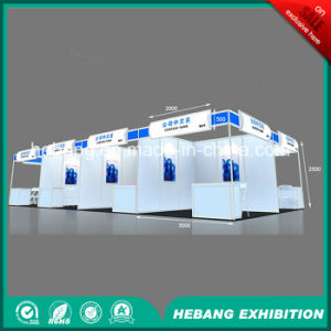 Hb-L00037 3X3 Aluminum Exhibition Booth pictures & photos