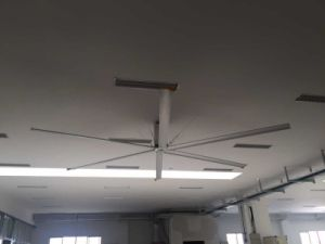 Siemens,Omron Transducer Control Gymnasium Use 2.4m (8FT) DC Industrial Ceiling Fan