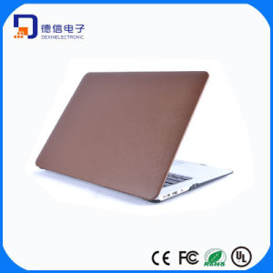 Elegant Leather Finished PC Shell Cover for MacBook (LC-CS115)