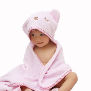 High Quality 100% Cotton Baby Hooded Poncho Towel pictures & photos