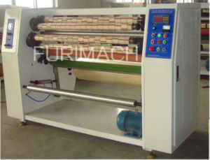 High Efficiency BOPP Adhesive Tape Slitting Machine/Sealing Tape Slitting Machine pictures & photos