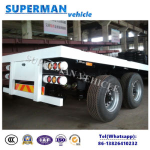 Airbag Suspension Container Flatbed Truck Semi Trailer pictures & photos