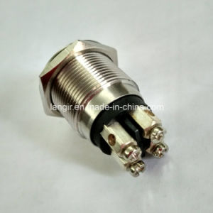 19mm New Type Momentary Normal Open Electric Car Metal Switch pictures & photos
