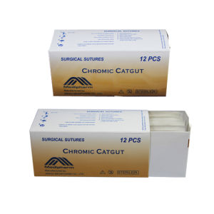 Chromic Catgut Sutures with Needle pictures & photos