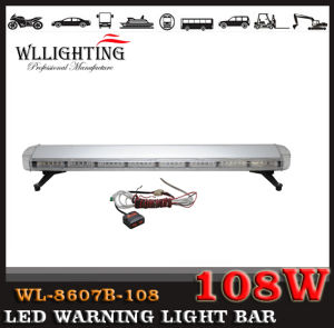 55inch LED Fire Ambulance Project Warning Light Bar with Linear Lens