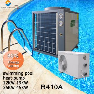 Water 100% Titanium Tube12kw/19kw/35kw/70kw Air Source Heat Pumps pictures & photos