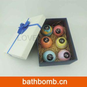 OEM Private Label Organic Bath Fizzy 6 Ball Bath Bomb Set